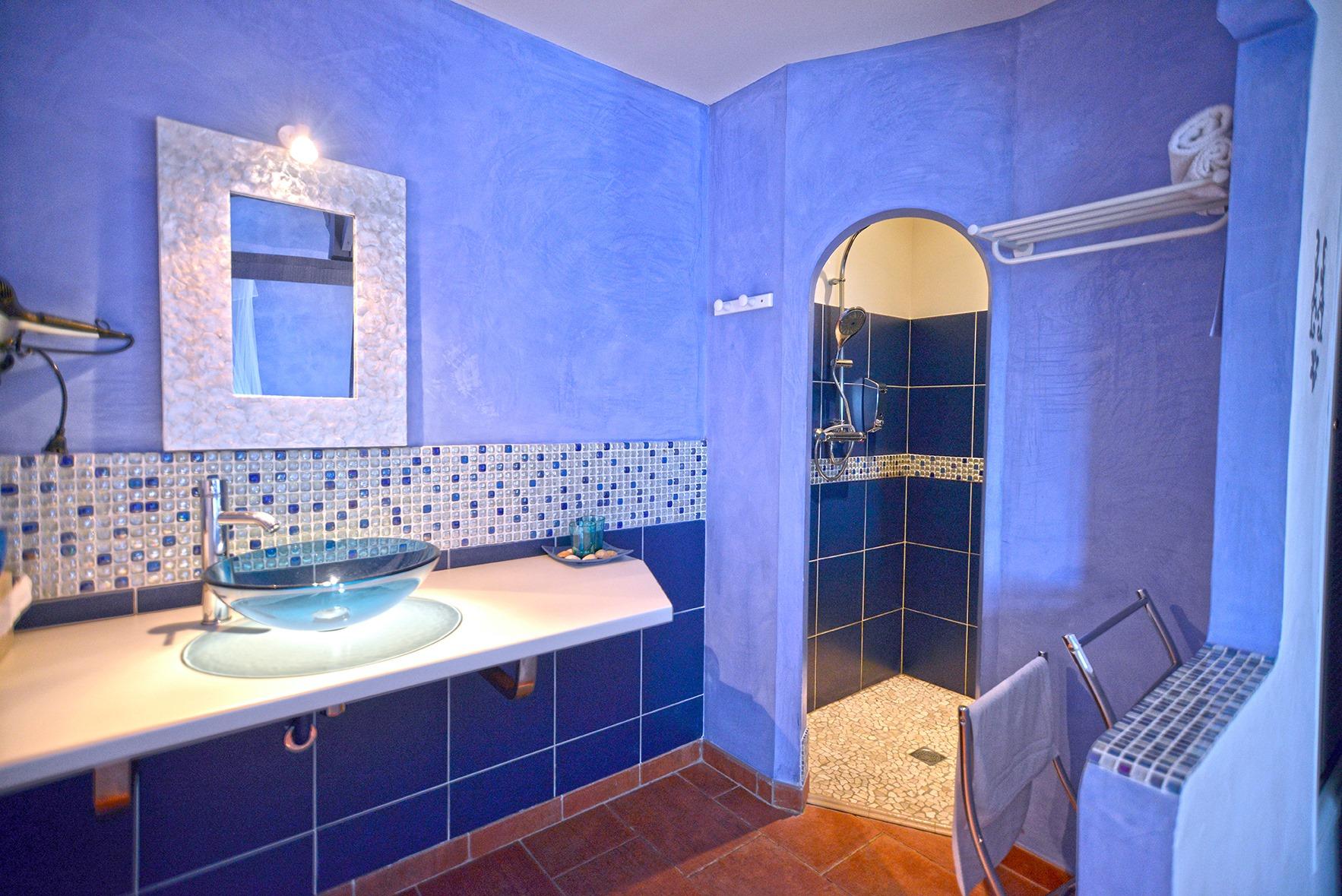 S.d'eau chambre bleu