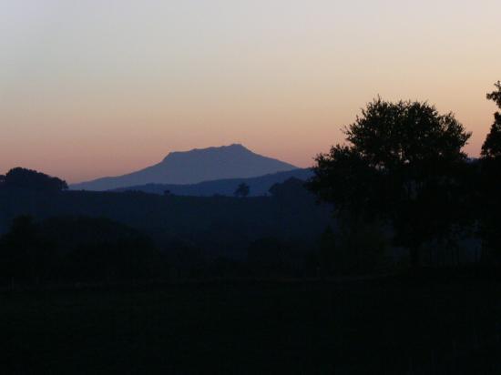Le paysage vue du Domaine Tambourin
